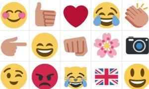 Los emojis tomaran lugar en twitter