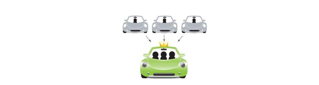 Uber lanza su nuevo servicio de carpooling para que los usuarios paguen menos y aumentar la movilidad de la ciudad.