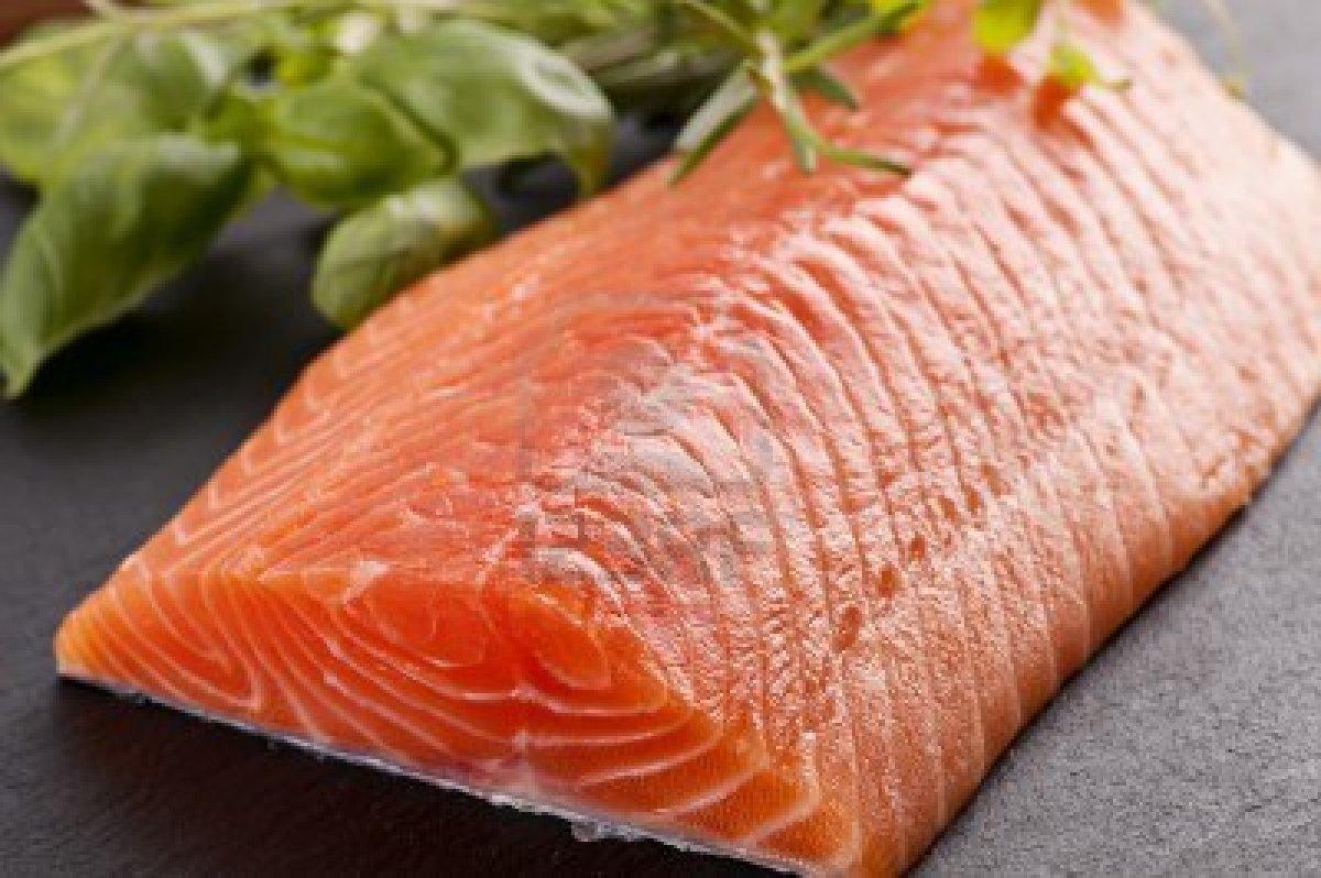 salmon-servido