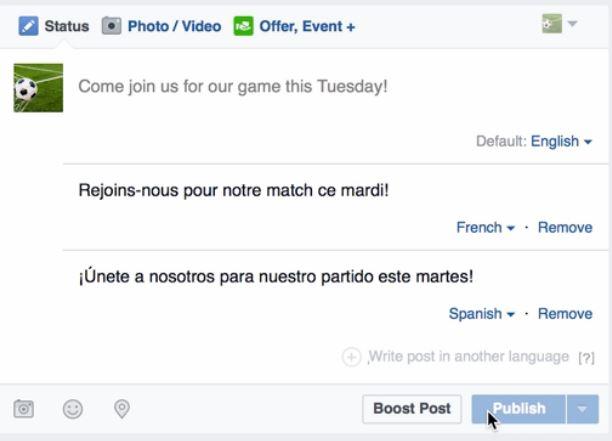 Facebook en muchas de sus actualizaciones siempre ha buscado entender a las personas, ahora quiere ser el mejor traductor de internet