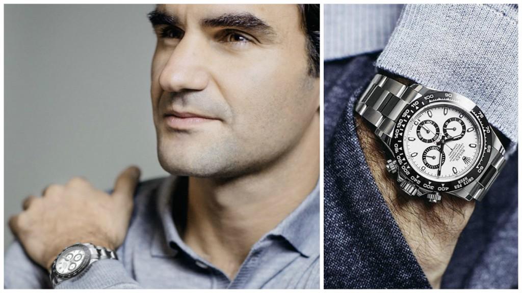 Federer-rolex