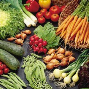 verduras, vitaminas