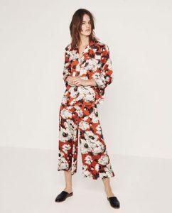 culottes, flores