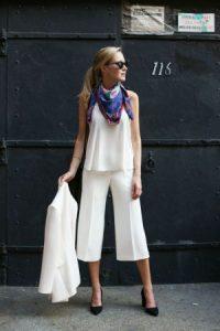 pantalones, blanco
