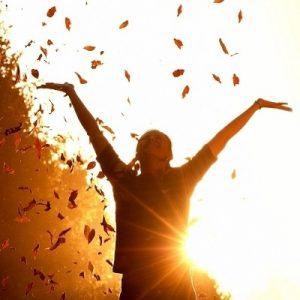 felicidad, aire libre
