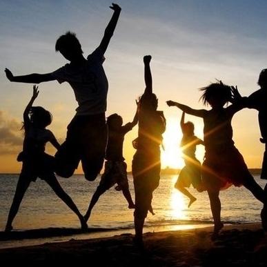 felicidad, familia, amigos