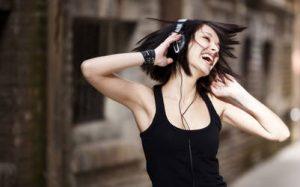 felicidad, música
