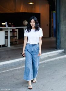 denim, culottes