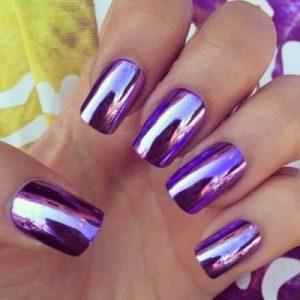 nail art, morado