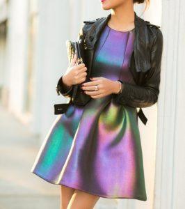 vestido, bolso
