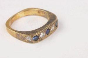 anillo, óxido