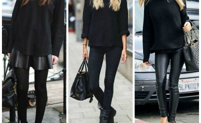 piezas negras, prendas