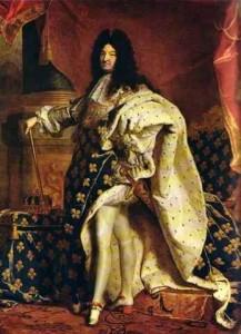 zapatos de tacón, Francia, Luis XIV