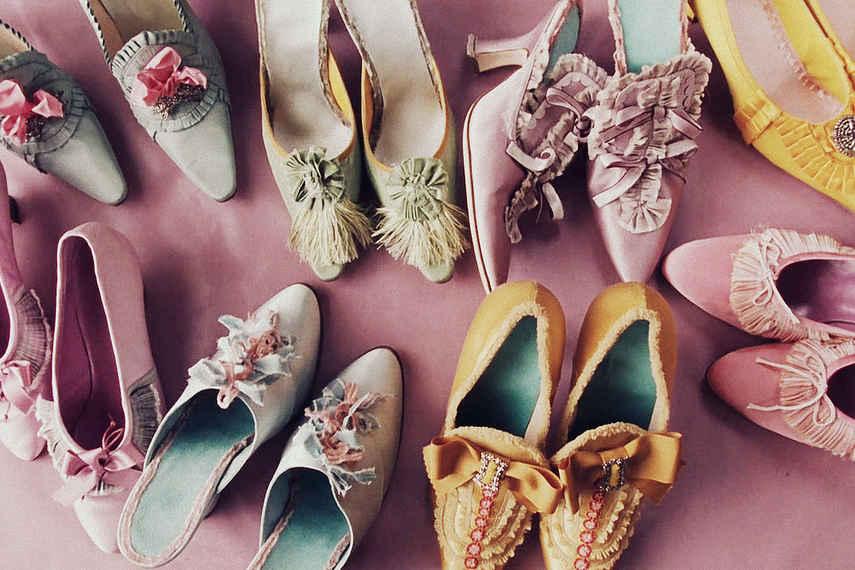 zapatos de tacón, Francia, tacones