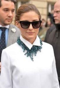 Coco Chanel, maxi collar, olivia palermo