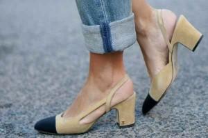Coco Chanel, zapatos de tacón, zapatos