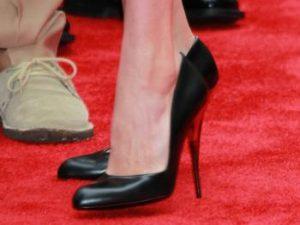 tacones, zapatos negros, tallas