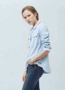 moda minimalista, camisa algodón