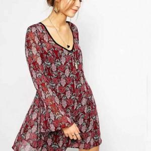 estilo minimalista, vestido, flores