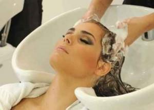 lavar el cabello, masaje, pelo