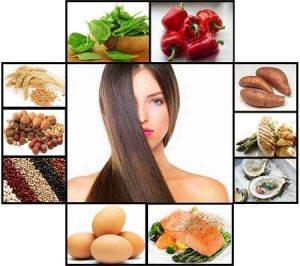 vitaminas para el cabello, nutrientes, proteínas