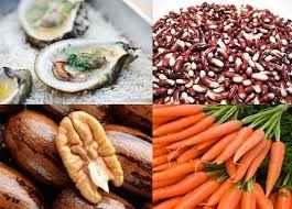 vitaminas para el cabello, nutrientes, zinc