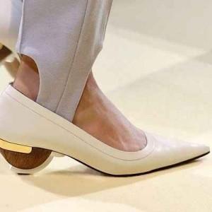 Años 80, zapatos, tacones