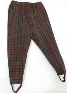Pantalones fuseau, años 80