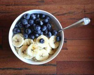 recetas de comida, avena, banano