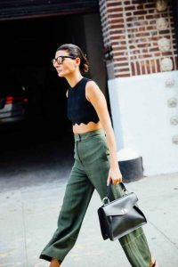 Nueva York, verde militar, semana de la moda