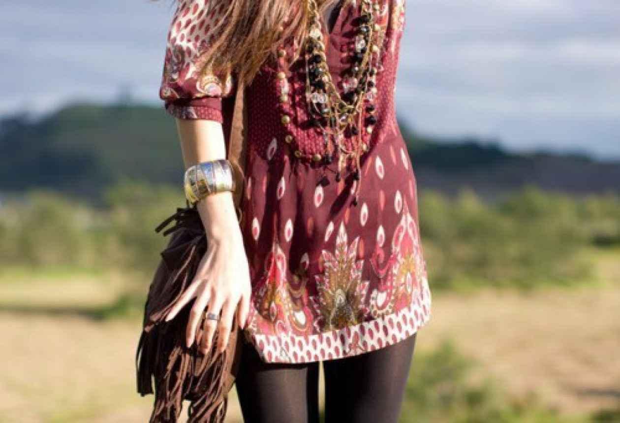 túnicas, estilo boho, bordados