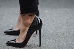 zapatos, tacones, stilettos