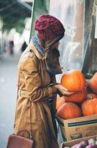 armario, otoño, gorros