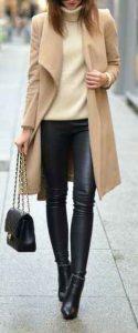 armario, otoño, pantalón de cuero
