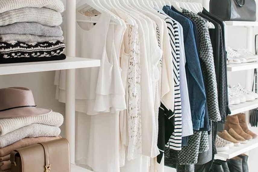 armario, otoño, estilo