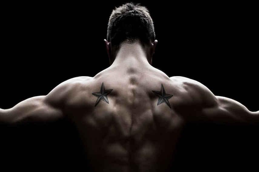 espalda alta, ejercicios, músculos