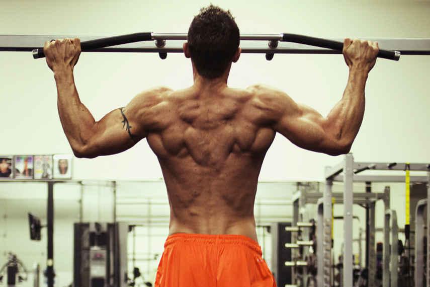 dominadas, ejercicios, espalda