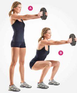 ejercicios, alta intensidad, pesas