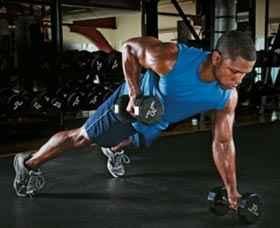 ejercicios, alta intensidad, brazos marcados