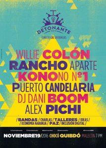 Festival Detonante 2016, Quibdó, Chocó