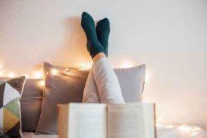 dormir, leer, sueño