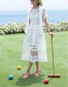 mujeres, estilo propio, vestido blanco