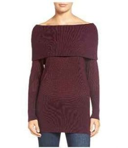 sweaters, invierno, rojo borgoña