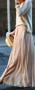tendencias de moda, estilo, maxi falda