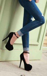 tendencias de moda, estilo, zapatos tacones