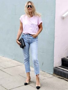 rosa, moda, street style