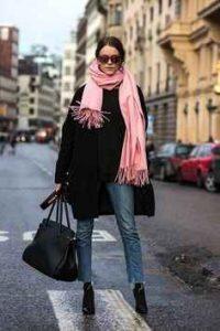 rosa, moda, accesorios