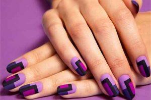 las uñas, uñas largas, nail art