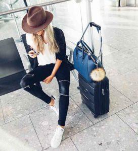 viajar, outfis de viaje