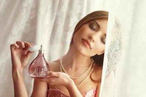 perfume favorito, puntos de pulso, cuello